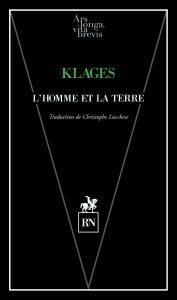 alvb_klages_lhomme-et-la-terre_couv