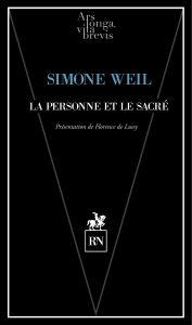 ALVB_WEIL_LA PERSONNE ET LE SACRE¦ü